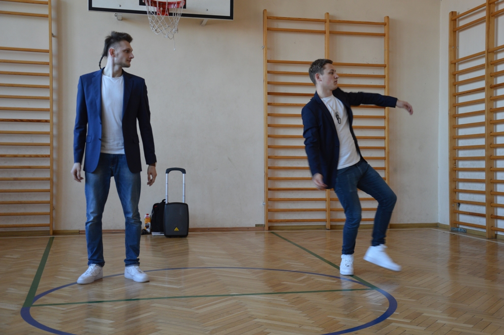 Popping dance - Adam i Kamil