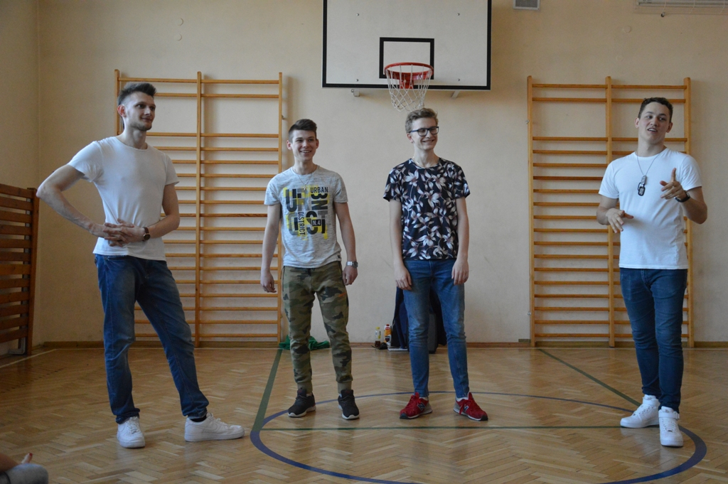 Popping dance - Adam i Kamil, Michał i Karol